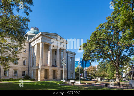 The North Carolina State Capitol, Raleigh, North Carolina, USA - Stock Photo