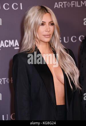 Los Angeles, California, USA. 4th November, 2017. Kim Kardashian 069 attends the 2017 LACMA Art + Film Gala Honoring - Stock Photo
