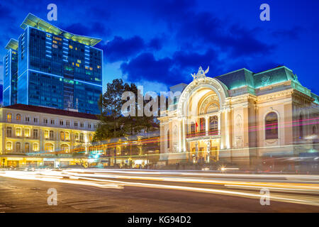 Municipal Theatre of Ho Chi Minh City - Stock Photo