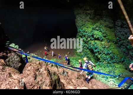 Goa Jomblang Caves - Stock Photo