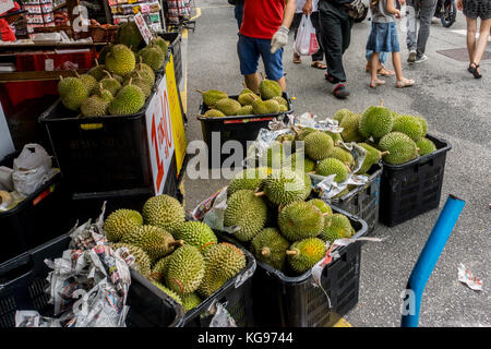 Durian in Chinatown - Stock Photo