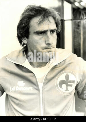 Italian football player Francesco Ciccio Graziani - Stock Photo