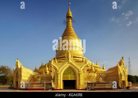 Maha Wizaya Pagoda, Yangon, Myanmar (Burma), Southeast Asia - Stock Photo