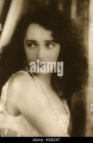 American actress Bebe Daniels - Stock Photo