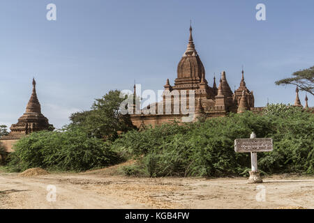 Bagan, Myanmar Pagodas (Temples) - Stock Photo