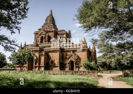 Bagan, Myanmar Pagodas (Temples) - Stock Photo