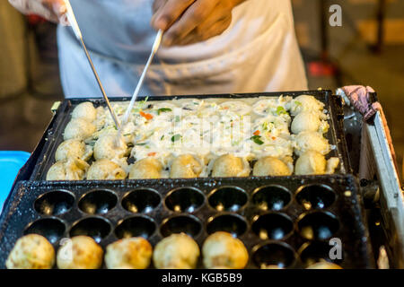Chiang Rai, Thailand - street food - Stock Photo