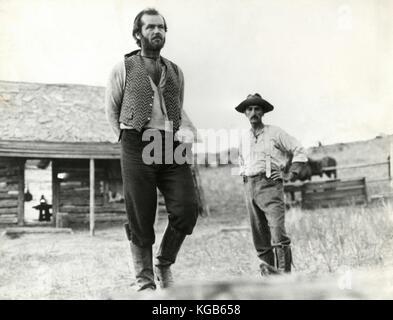 Actor Jack Nicholson in the movie Missouri Breaks, 1976 - Stock Photo