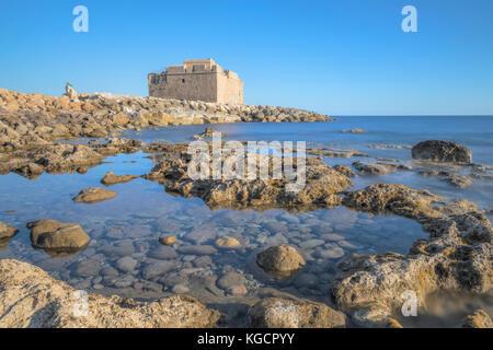 Paphos Castle, Paphos, Cyprus - Stock Photo