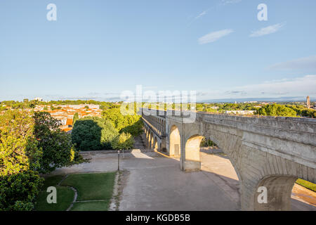 Montpellier city in France - Stock Photo