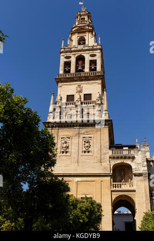 Torre del Alminar of the mosque,Cordoba,Spain, - Stock Photo
