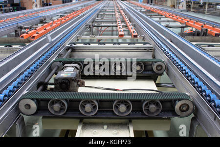 production line of the factory - Stock Photo