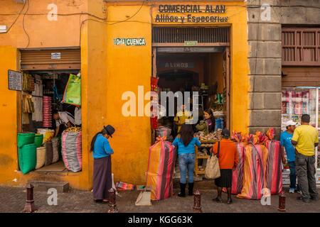 south america ecuador quito - Stock Photo