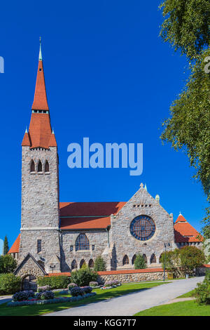 Tampere Cathedral is a Lutheran church in Tampere. Finland. - Stock Photo