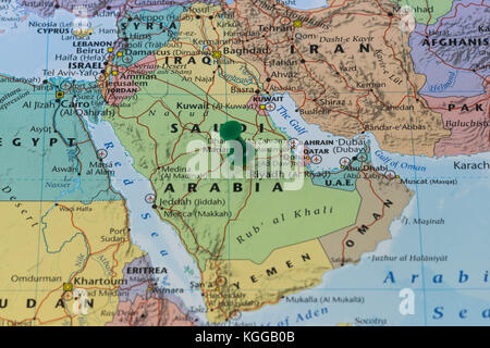 Riyadh Capital City of Saudi Arabia in the Middle East on the