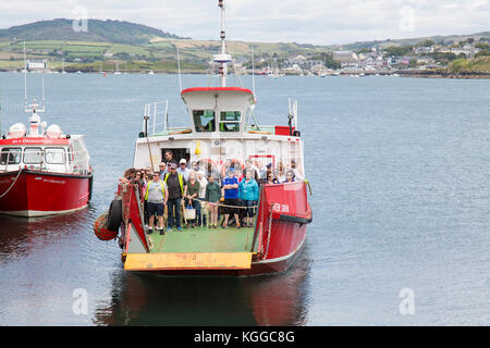 Sherkin Island Ferry West Cork Ireland - Stock Photo