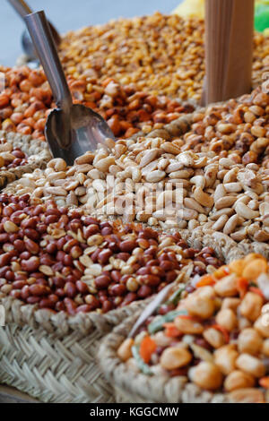 Dried fruit peel sold in the store. - Stock Photo