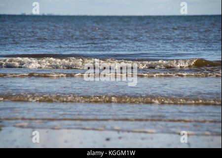 Baltic Sea in Gdynia Babie Doly, Poland 31 October 2017 © Wojciech Strozyk / Alamy Stock Photo - Stock Photo