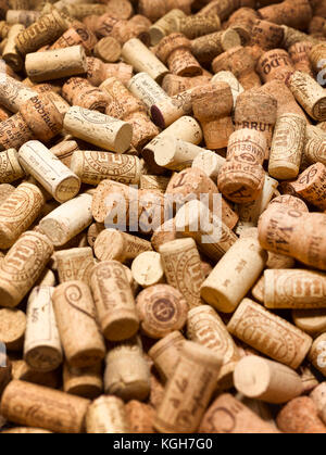 Bed of corks - Stock Photo