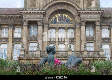 Birmingham, UK, October 3rd 2017 Birmingham city council house - Stock Photo