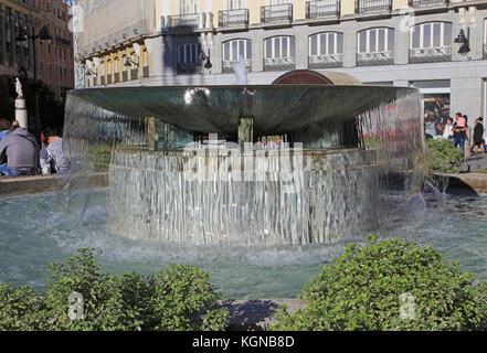 Madrid city centre puerta del sol stock photo royalty for Plaza de la puerta del sol