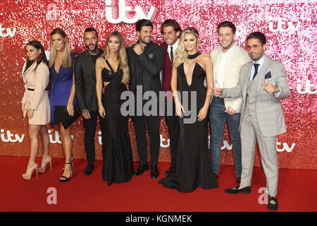 London, UK. 9th November, 2017. London, UK. 09th Nov, 2017. Towie, Bobby Norris, Pete Wicks, James 'Diags' Bennewith, - Stock Photo