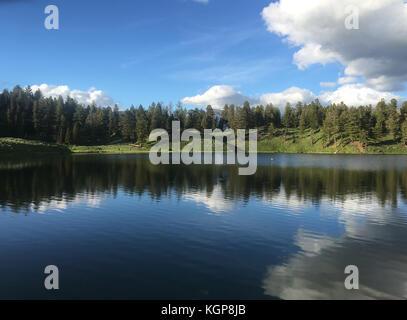 Trout Lake at Yellowstone National Park - Stock Photo
