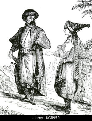 Persian Traditional Clothing Men Th Century