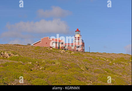 Cape Horn Lighthouse in Tierra del Fuego, Chile - Stock Photo