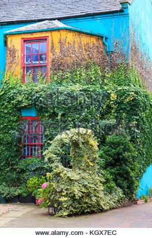 Colourful house Market Rasen Lincolnshire England UK - Stock Photo