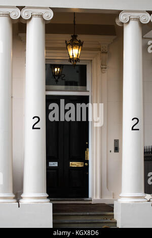 Number 2, Carlton Gardens, London, England, home of Lord Kitchener 1914-15. - Stock Photo