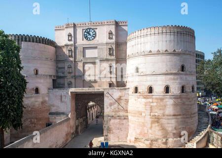 Bhadra Fort, ahmedabad, Gujarat, India, Asia - Stock Photo