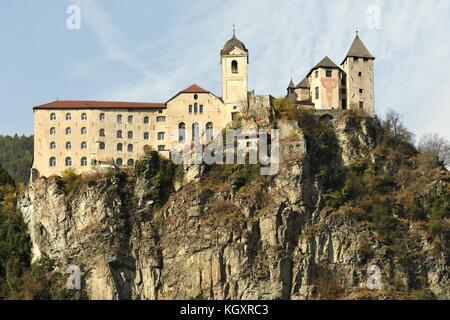 Monastery of Sabiona, Bolzano. Italy. - Stock Photo
