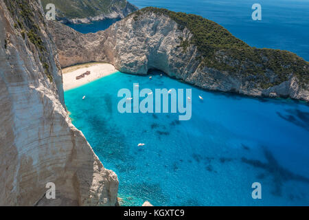 Zakynthos Island in Greece - Stock Photo