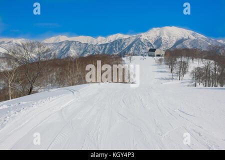 Sunny Ski Resort - Stock Photo