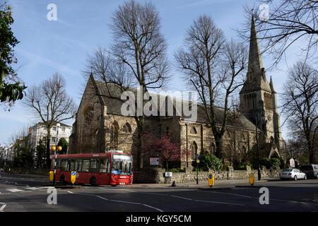 St Mark's Church, Regent's Park, Camden, London. - Stock Photo
