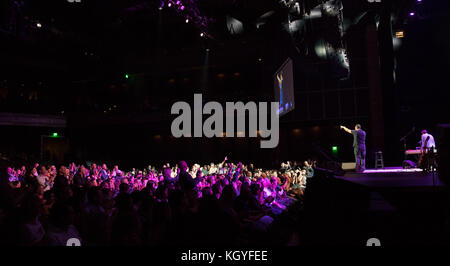 Las Vegas, NV, USA. 10th Nov, 2017. ***HOUSE COVERAGE*** Adam Sandler debut performance at The Chelsea at The Cosmopolitan - Stock Photo