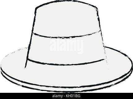 Vintage male hat - Stock Photo