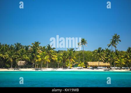 Carribean sea, beautiful panoramic view - Stock Photo