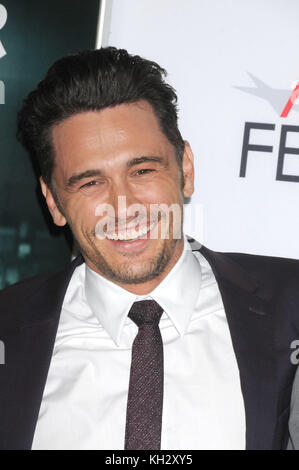 Los Angeles, California, USA. 12th Nov, 2017. November 12h 2017 - Los Angeles, California USA - Actor JAMES FRANCO - Stock Photo