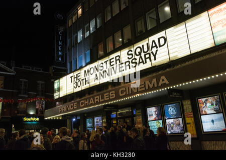 The Monster Squad at Prince Charles Cinema, off Leicester Square, in London's West End, UK - Stock Photo