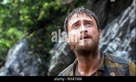 Jungle is a 2017 Australian biographical survival drama film directed by Greg McLean and written by Justin Monjo. - Stock Photo