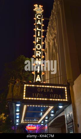 The Caliornia Opera, San Jose CA - Stock Photo