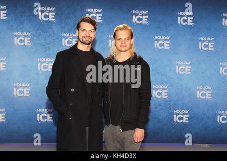 Holiday on Ice at Volksbank Arena in Hamburg  Featuring: Jimi Blue Ochsenknecht, Wilson Gonzalez Ochsenknecht Where: - Stock Photo