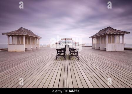 Cromer Pier, Norfolk, UK - Stock Photo