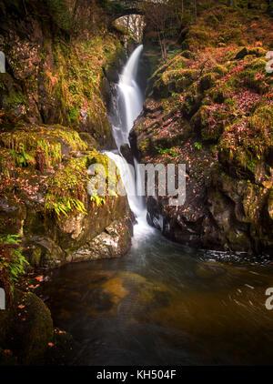 Aira Force, Ullswater, Lake District, Cumbria, UK. - Stock Photo