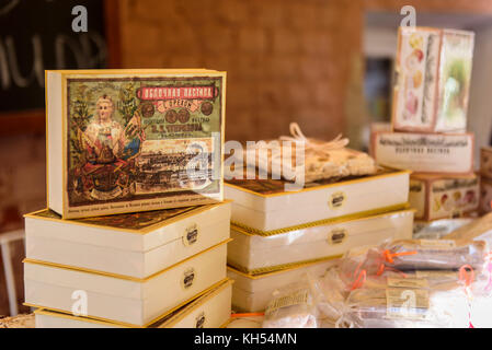 Russia, Kolomna. Traditional products in the Museum Pastila Factory - Stock Photo