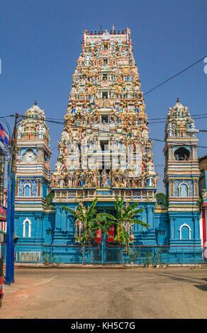 Temple of Sri Kailawasanathan Swami Devasthanam Kovil in Colombo, Sri Lanka - Stock Photo
