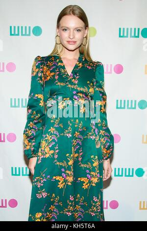 New York, NY, USA. 13th Nov, 2017. Isabella Farrell at arrivals for Worldwide Orphans (WWO) 13th Annual Gala, Cipriani - Stock Photo