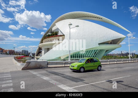 City of Arts and Sciences in Valencia, Spain - Stock Photo